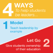 4 ways to help students be leaders