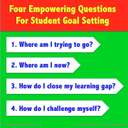 Four Empowering Questions for Student Goal Setting