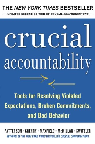 Cover photo of Crucial Accountability