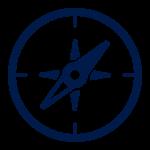 Icon blue model