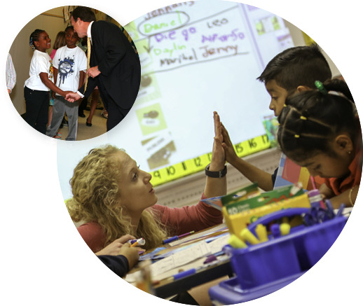 Teacher's empowering students to be leaders