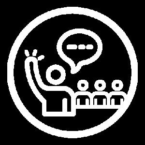 Icon white leadership