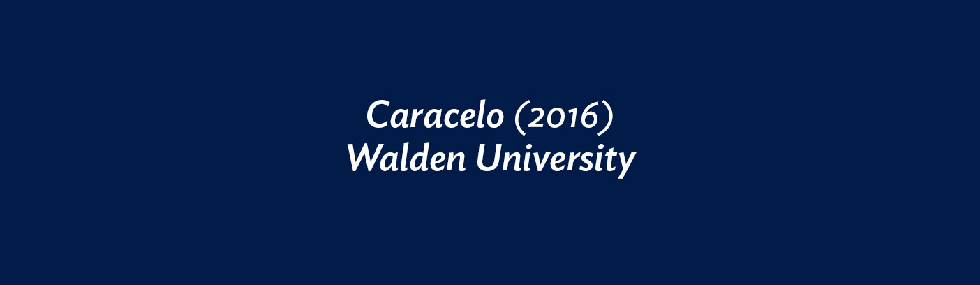 Caracelo (2016) Walden University