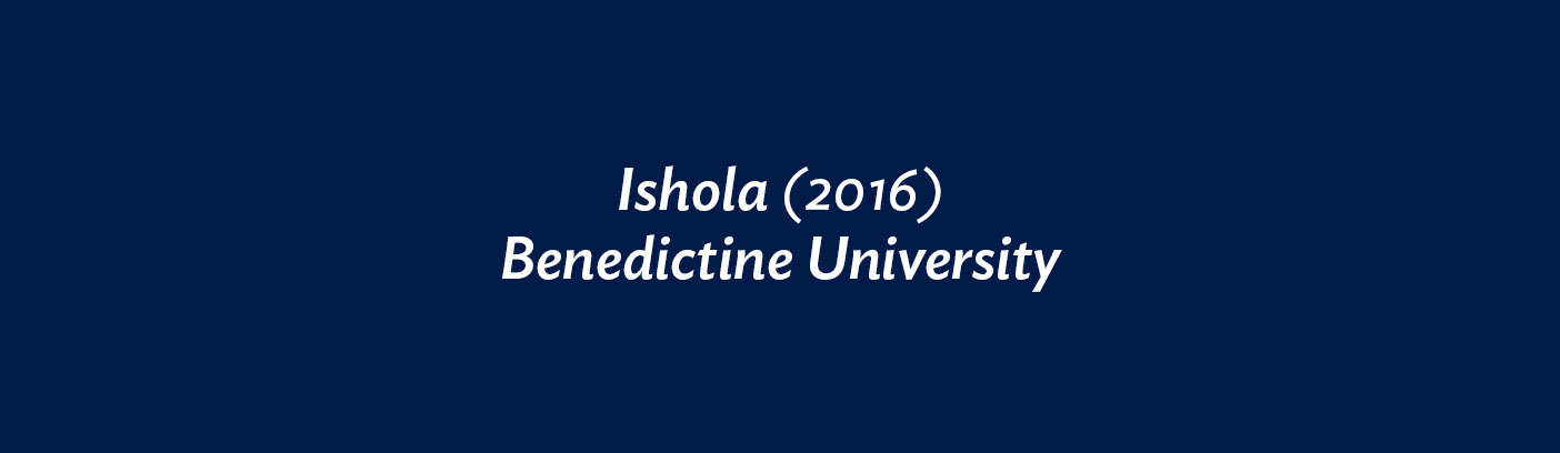 Ishola (2016) Benedictine University