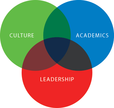 Culture academics leadership diagram