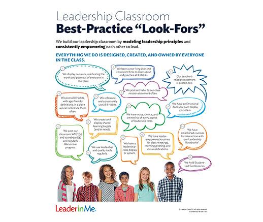 Leadership Classroom Lookfors
