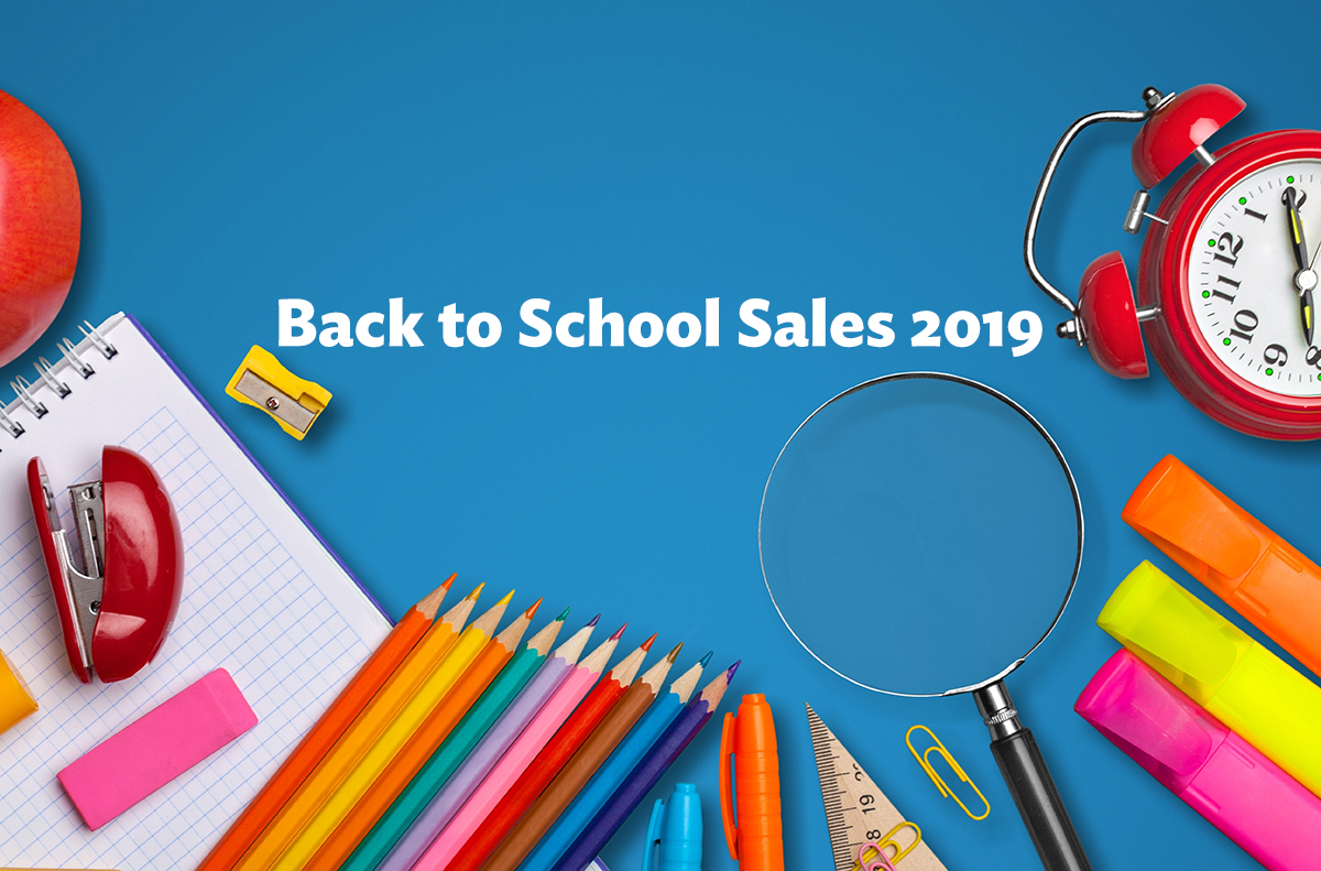 back to school sales 2019