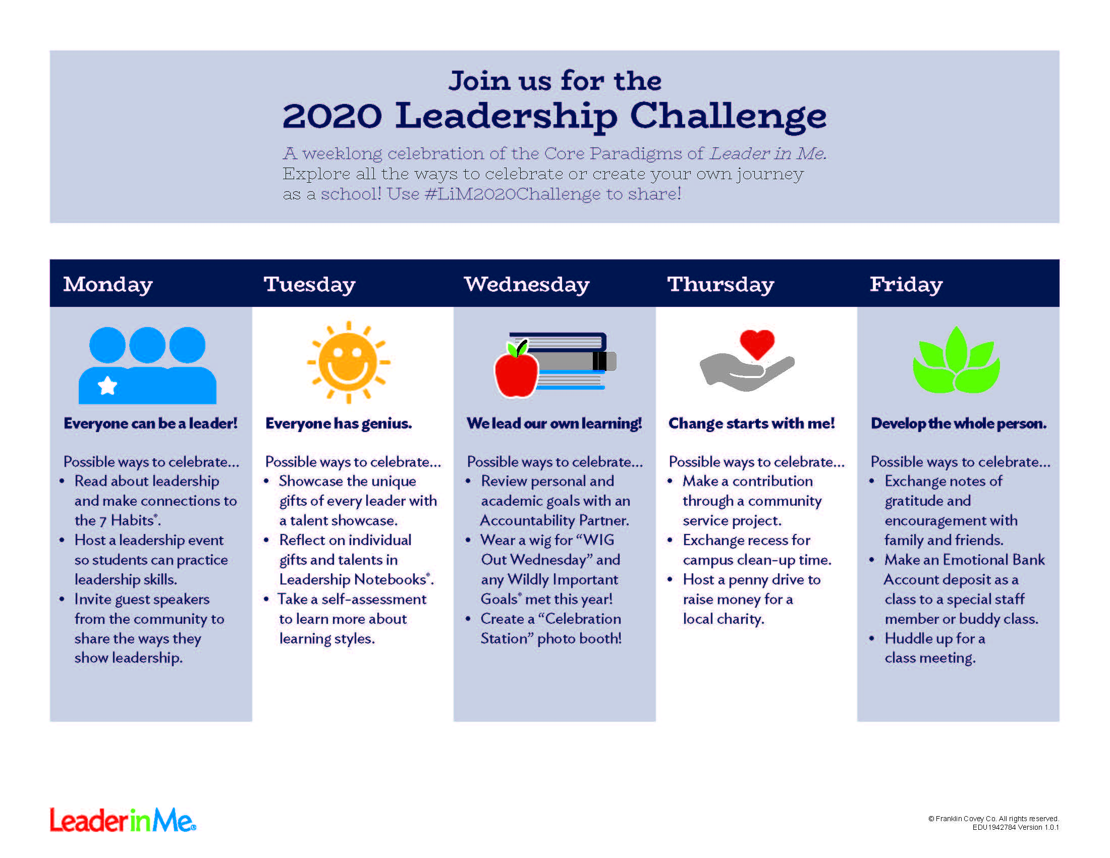 the 2020 leadership challenge