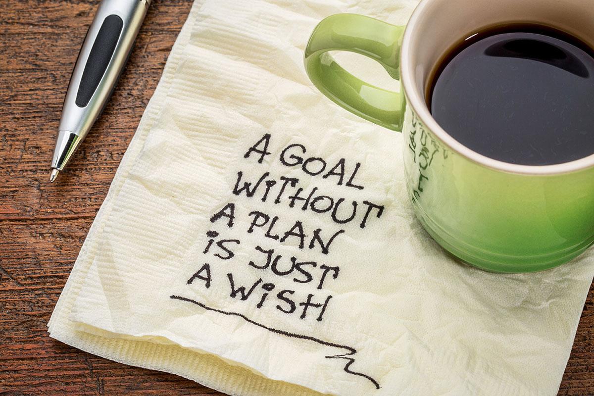 Student Setting Goals